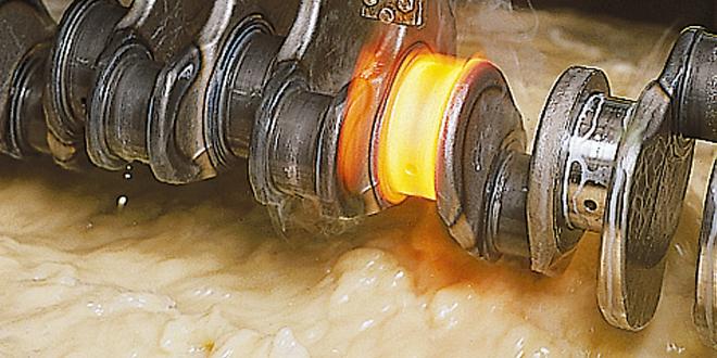 Wärmebehandlung: Härte- / Abschreckmedien