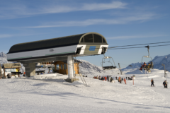 Equipment for mountain resorts
