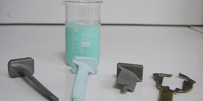 Titan-Verglasung und Zunderschutz