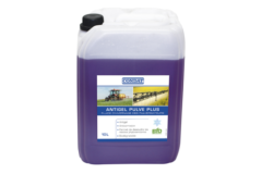 Overwintering fluid for sprayers