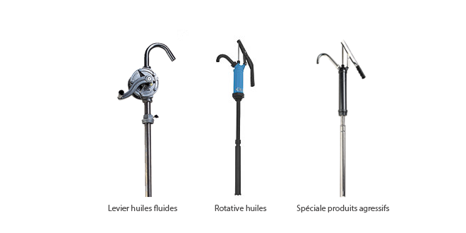 Accessories for distribution / pumping