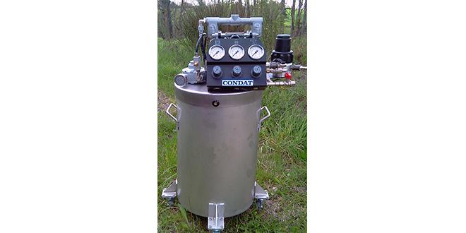 Trennstoff-Druckbehälter